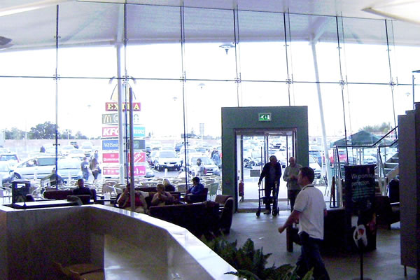 Interior of M25 Cobham Services
